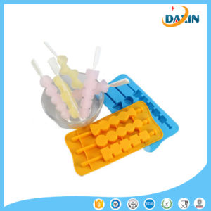 2016 Newly Special Shape Silicone Popsicle Mold Pop Maker pictures & photos