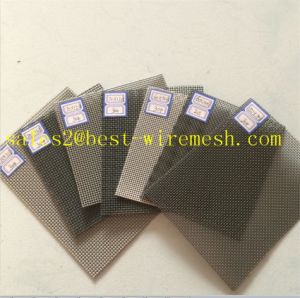 Stainless Steel Privacy Window Screen Diamond Mesh pictures & photos