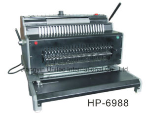 Wholesale Popular Design Heavy Duty Electric Combination Binding Machine HP-6988 pictures & photos