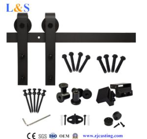Wooden Sliding Door Hardware (LS-SDU-8010)