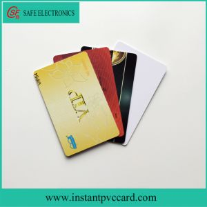 Standard Credit Card Size Printable PVC Card pictures & photos