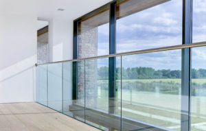 Most Simple Design Aluminium Glass Handrail Systems for Balcony / Patio / Deck with U Channel pictures & photos