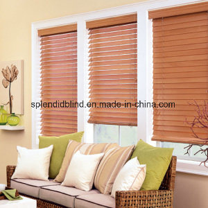 50mm Basswood UV Coating Basswood Blinds (SGD-B-5566) pictures & photos