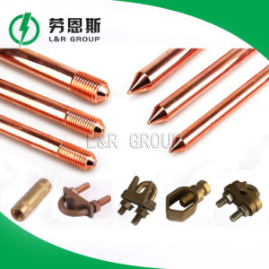Copper Threaded Earth Rod pictures & photos