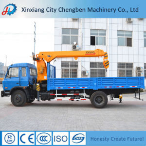 Special Design 8ton Crane with 6X4 Truck Dump for Lifting pictures & photos