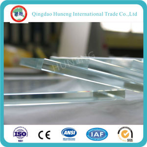 Low Iron Glass/Ultra Clear Float Glass with Ce ISO pictures & photos