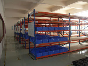 SGS Medium Duty Shoe Shelf Industrial Rack pictures & photos