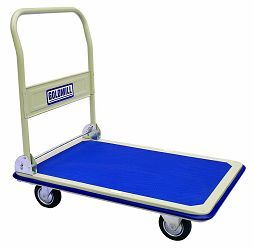 Heavy Duty Foldable Steel Platform Hand Truck 150kgs/300kgs pictures & photos