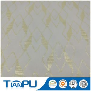 180-550GSM Customized Jacquard Logo Available Fire Retarded (other treatment available) Mattress Ticking Fabric Tp235 pictures & photos