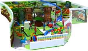 Plastic Tube Slides Playhouse, Cheer Gungle Gym Indoor Playground pictures & photos