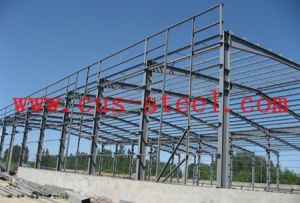 Design Manufacture Steel Structures for Workshop, Warehouse, Hangar Building pictures & photos