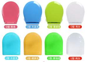 Bathroom Accessories of Toilet Seats with Soft Closed Hinge pictures & photos