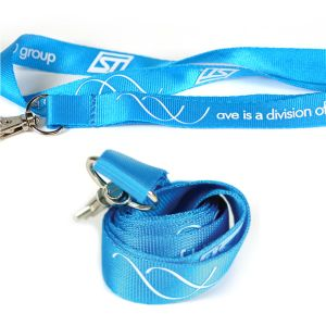 Screen Printing Custom Logo Nylon Lanyard pictures & photos