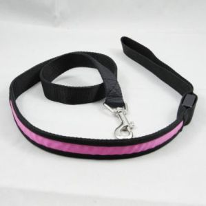Purple Cheap LED Dog Leash Products pictures & photos
