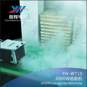 Professional Low Fog Machine DMX DJ Power 3000W Ground Stage Fog Machine for Stage Lighting Effects pictures & photos