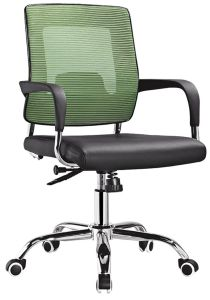 Wholesale High Quality Swivel Office Computer Chair with Armrest (HF-M38B) pictures & photos
