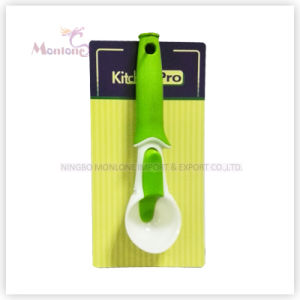 Colorful Food Grade PP+PS Ice Cream Spoon 21*5.5cm pictures & photos