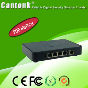 OEM 5/8/24 Port 10/100m Poe Switch From CCTV Supplier (CK-POE411) pictures & photos