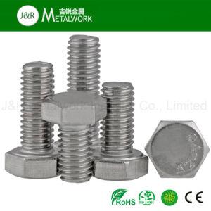 Stainless Steel Ss A2 A4 Hex/Hexagon/Hexagonal Bolt (DIN933 DIN931) pictures & photos
