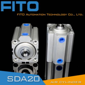 Sda Series Thin Type Double Actiing Cylinder (SDA50*20) pictures & photos