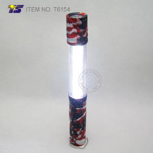 Camouflage Us Flag Multi Function Flashlight with Powerful Work Light (T6154) pictures & photos