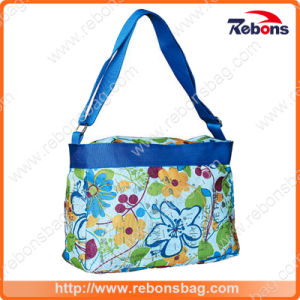 Multifunction Retro Flower Printing Fancy Design Handbag pictures & photos