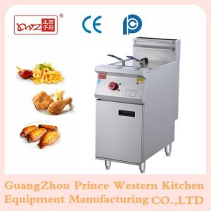 Electric Chips Fryer Commerical Open Fryer pictures & photos