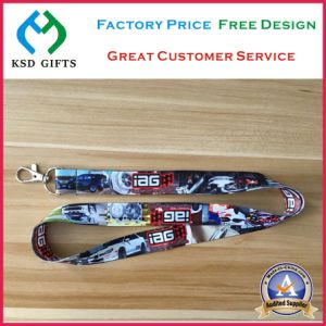 China Wholesale Brand Customized Dye Sublimation Printed Lanyard (KSD-1185) pictures & photos