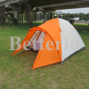3-4 Person Pop up Camping Tent Family Tent One Room and One Vestibule pictures & photos