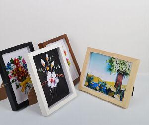 Popular Wood Finish Photo Frame Wholesale PS Simple Picture Frame pictures & photos