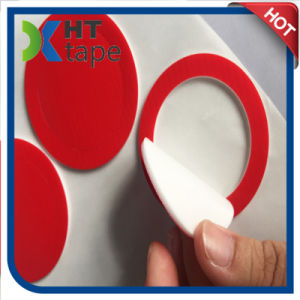 Die Cutting Round Red Film PE \EVA \PU Foam Double Sided Tape pictures & photos