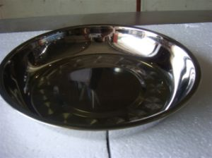 High Quality Stainless Steel Plate/Food Plate Dinner Plate pictures & photos