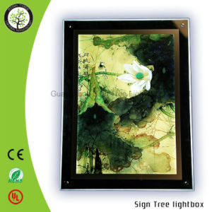 Acrylic Crystal LED Street Light Advertising Light Box pictures & photos
