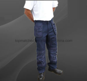 Anti Static Safety Work Cargo Pockets Reflective Pants pictures & photos