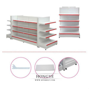 Hot Sale Metal Gondola Display Shelf Supermarket Display Rack (OW-A06) pictures & photos