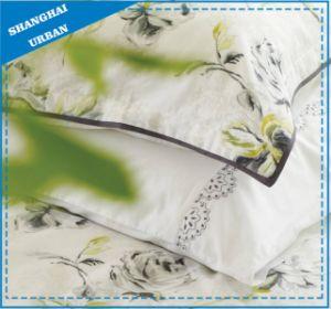 Green Yellow Stripe Soft Microfiber Bedsheet Set pictures & photos