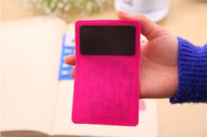 Colorful and Customized 8 Digit Solar Power Foldable Rubber Calculator pictures & photos