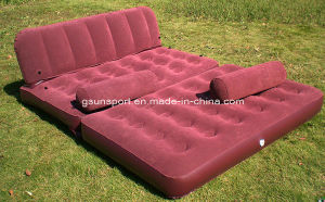 New Inflatable 5-in-1 Pull-out Sofa and Air Mattress Sleeper Air Sofa pictures & photos