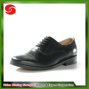Oxford Genuine Leather Shoes Military pictures & photos
