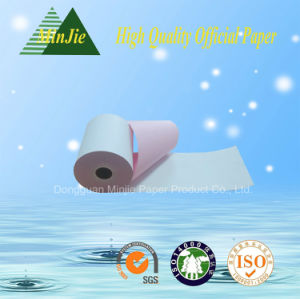 High Quality Duplicate Paper Carbonless Paper Continuous Paper Form Roll pictures & photos