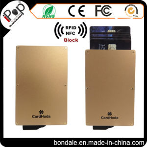 Credit Card Use and Aluminum Plastic Material Credit Card Holder pictures & photos