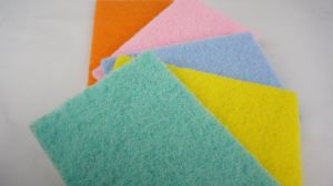 Colorful Cleaning Tool Scourer Pad Scouring Pad for Kitchen Utensil pictures & photos