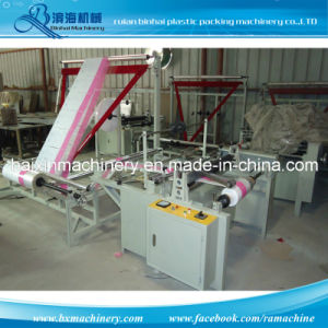 BOPP Plastic Bag Making Machine Ultrasonic Header Sealing Folder pictures & photos