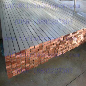 Titanium Copper Finishing Flat Bar for Vacuum Salt Making/Aerospace pictures & photos