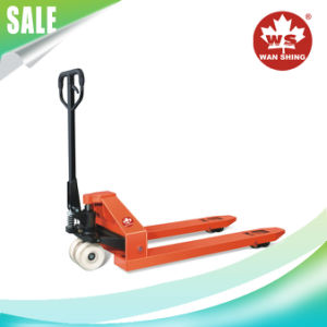 5ton Excellent Nylon Wheel Heavy Duty Hand Pallet Truck pictures & photos
