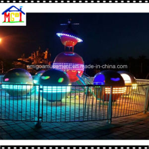 Rotating Game Machine with Space Design Kiddie Roundabout Ride pictures & photos