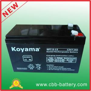 12V7.5ah Lead Acid SLA VRLA PV 12V Rechargeable AGM Battery pictures & photos