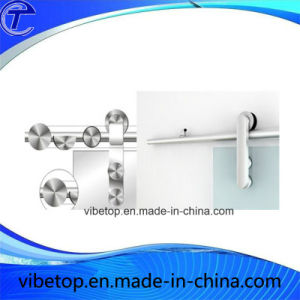 Customized Wholesale Stainless Steel Barn Door Hardware (BDH-14) pictures & photos