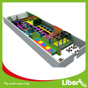 Manufacturer of Customized Indoor Trampoline Park with Ninjia Course and Foam Pit pictures & photos