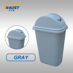 24L, 35L Swing Plastic Dustbin in High Quality pictures & photos